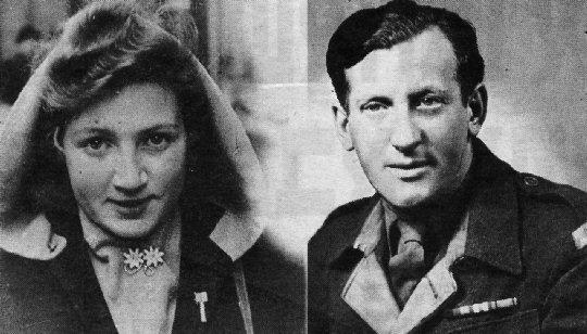 Fanny Dominitz und Leo Englard