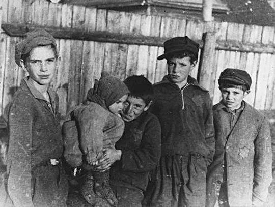 Kinder im Ghetto Kowno, Repro: Wallstein Verlag/ushmm