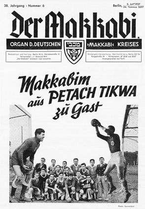Makkabim aus Petach Tikwa zu Gast