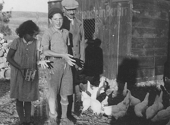 Dr. Lazarus Eisemann und seine Kinder versuchten sich in Palästina als Hühnerzüchter