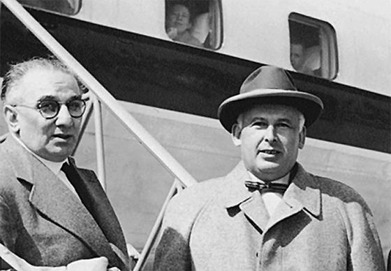 Karl Marx und Hendrik van Dam (1955)