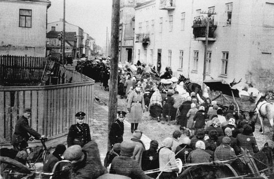 Deportation der Juden aus dem Ghetto Sieradz (Bezirk Lodz)