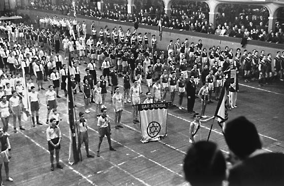 Makabi-Hallensportturnier 1936 in Frankfurt/Main